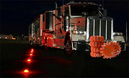 LED Flares For Truck , Flares , LED flares in case of accidents